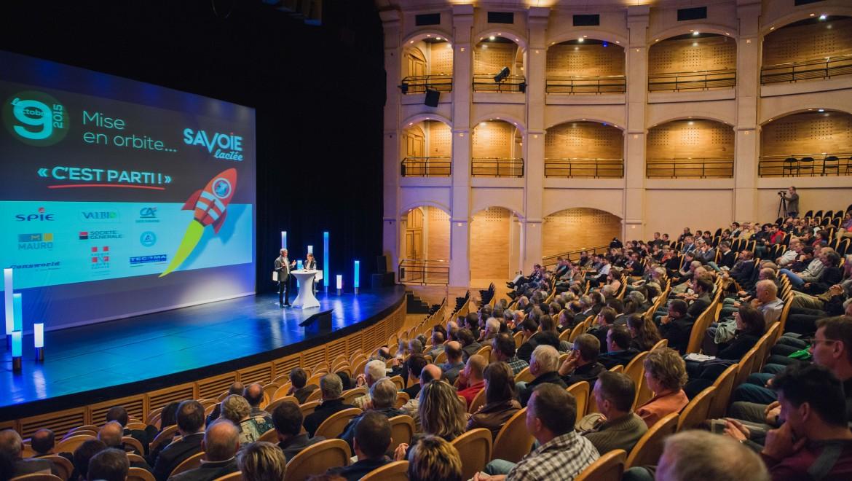 Inauguration du site Savoie Lactée le 9 octobre 2015